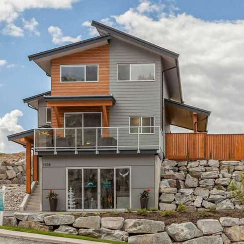 skyridge show home, duplexes in Squamish BC